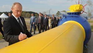 Putin all'inaugurazione di un gasdotto a Vladivostok