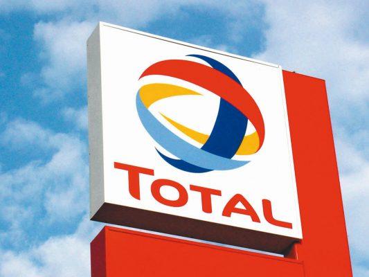 total produzione petrolio