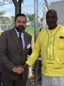 Tororo_Brambilla & Ugandian Minister