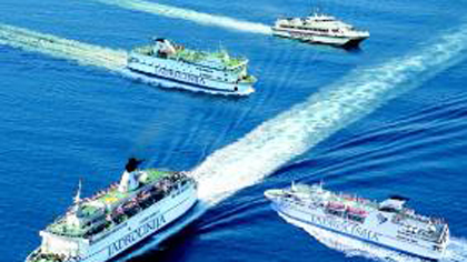trasporto marittimo emissioni
