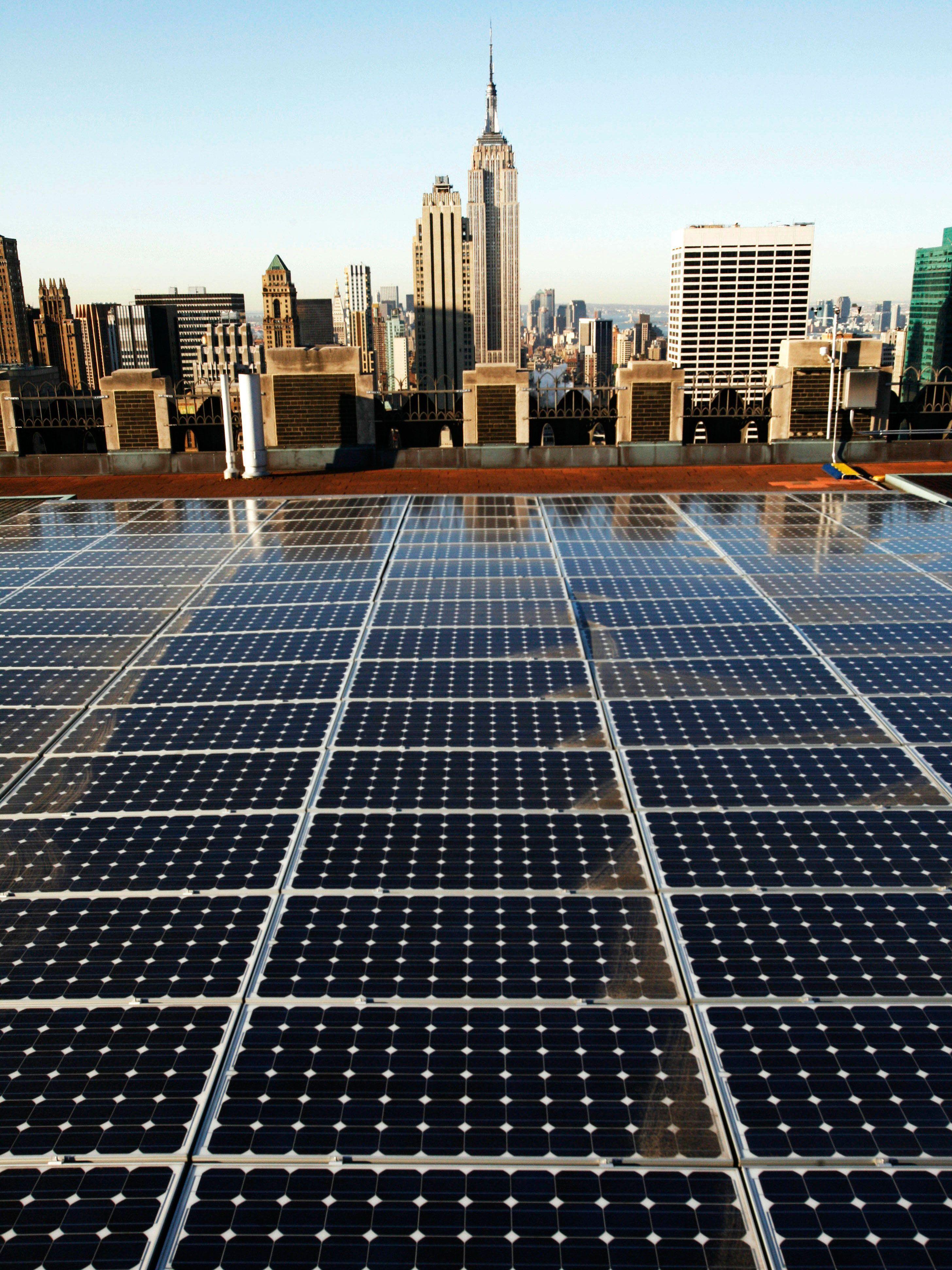 New york tetti in affitto per aumentare energia solare for Casa a new york affitto