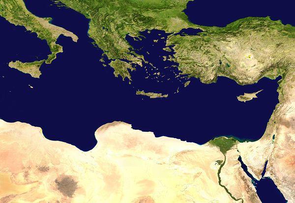 Mediterraneo Cartina.Cosa Succede Nel Mediterraneo Orientale Con L Esercitazione Eunomia Energia Oltre